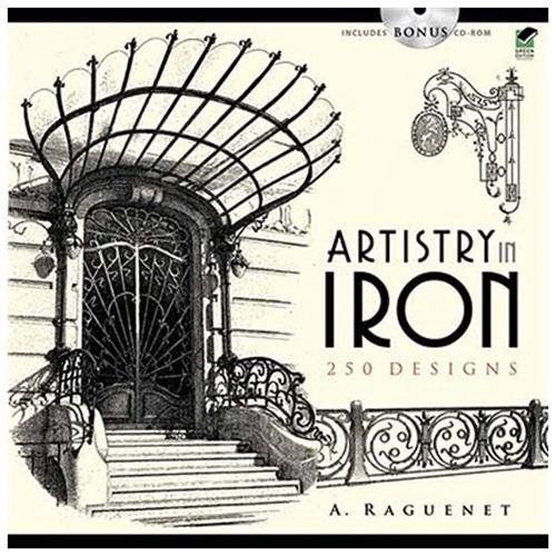 art nouveau decorative ironwork   1100 Decorative French Ironwork ...