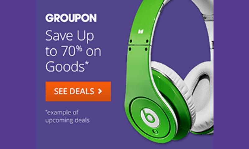 70 Off Goods Discount Sale At Groupon Edealo Discount Sale Shopping Vouchers Discounted