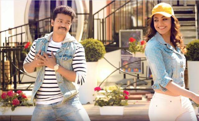 Vijay Samantha Kajal Aggarwal In Mersal Tamil Movie New Stills
