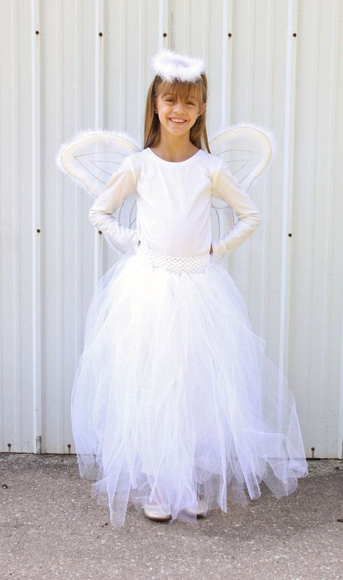 DIY Angel Skirt | Diy angels and Angel