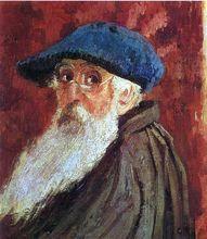 Self Portrait  Camille Pissarro