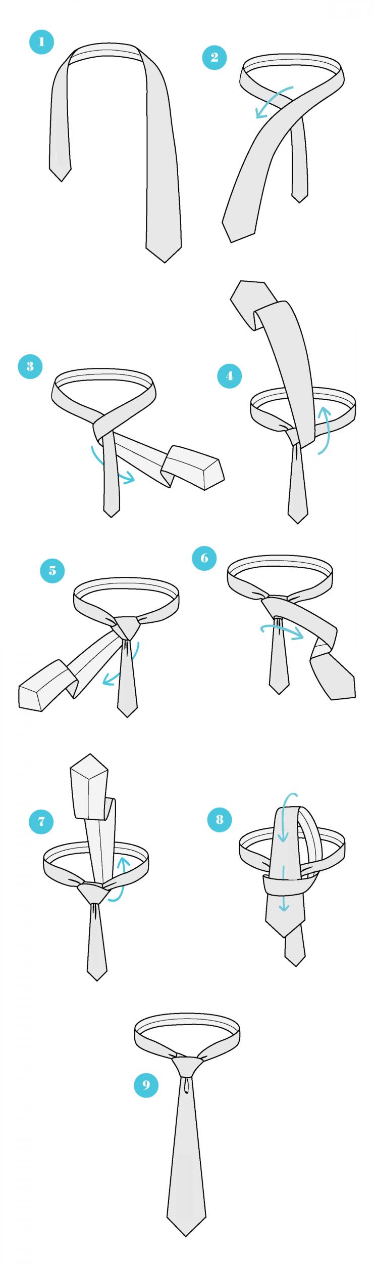 Das Praktische Handbuch Für Krawattenknoten Men Fashioncool