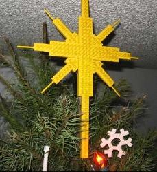 lego christmas tree ornament instructions