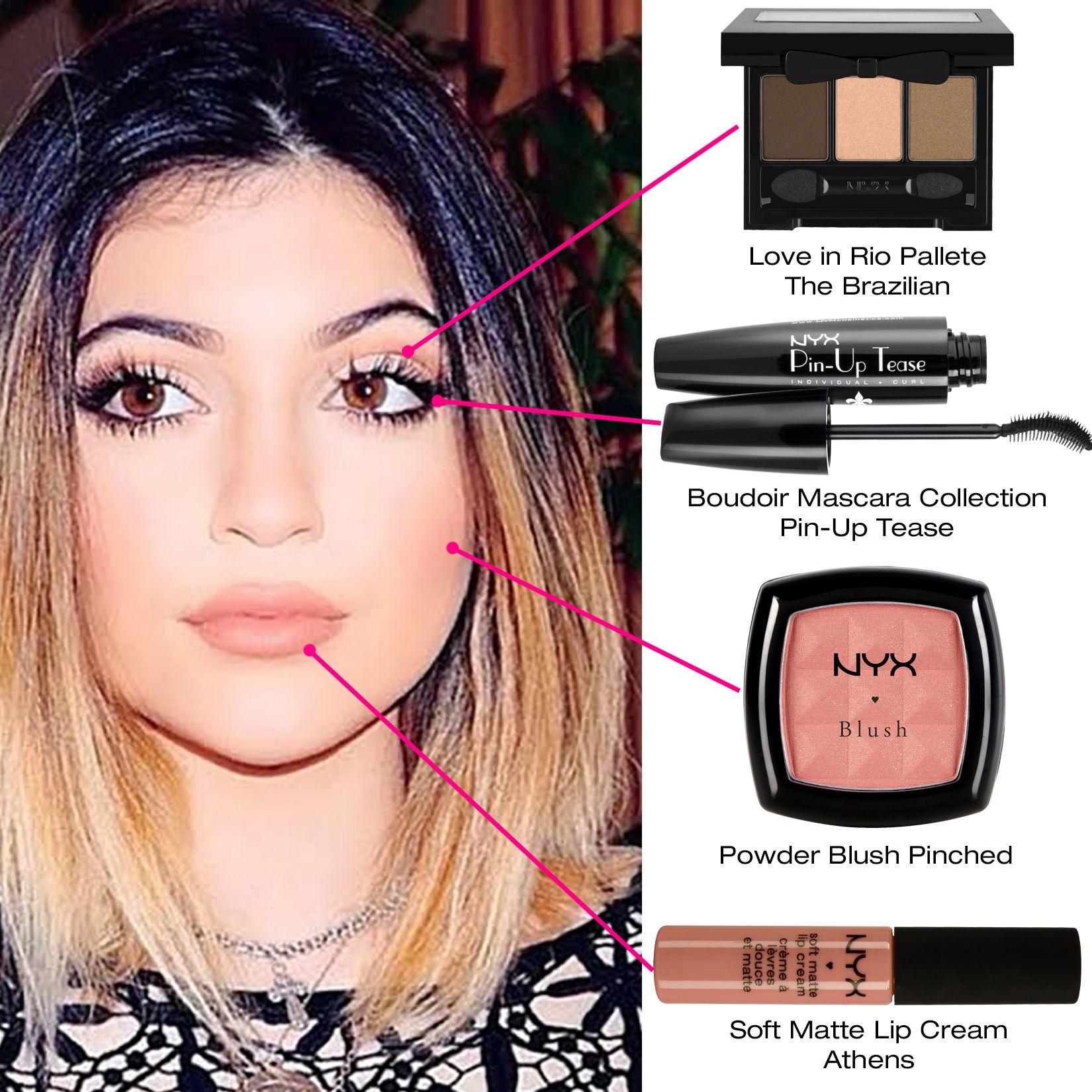 A Kylie Jenner é a it girl da vez, graças às suas maquiagens que são lindas tanto para o dia a dia quanto para uma ocasião mais especial e aproveitamos para mostrar alguns produtos da NYX que você pode usar para adaptar o estilo dela