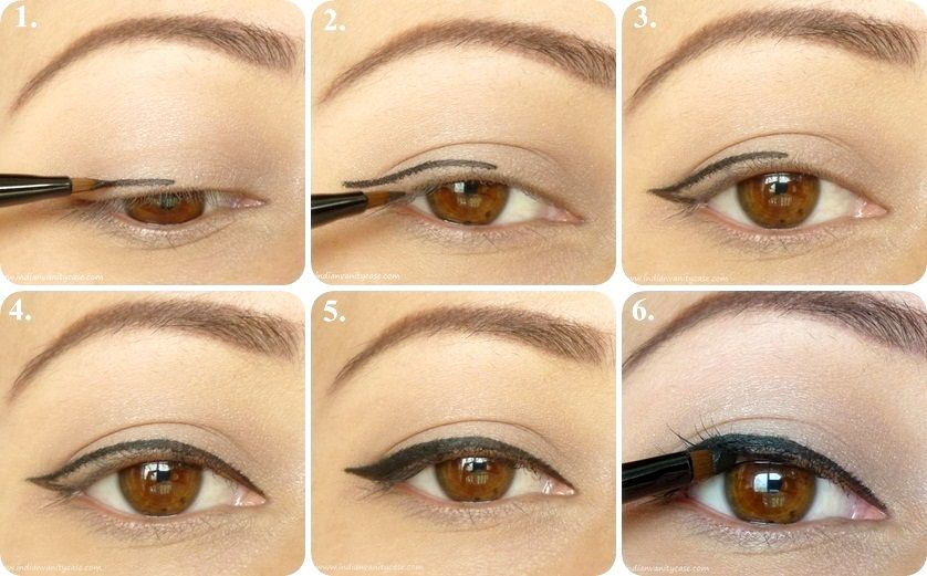 Simple Cat Eyes Http Www Myeyeshadow Com Simple Cat Eyes Cat Eye Makeup Cat Eye Makeup Tutorial Eye Makeup