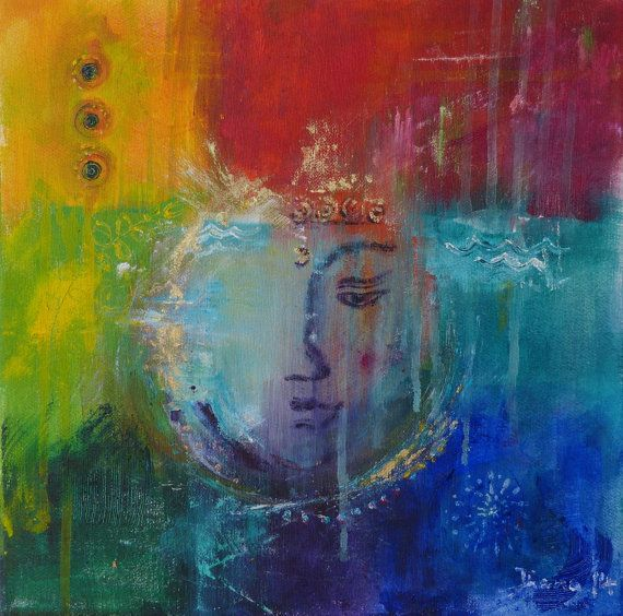 Contemplation Abstract Digital Print On Canvas By Barabajagalarts 39 00 Art Buddha Art Spiritual Art
