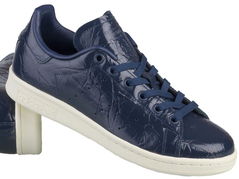 best sneakers d1693 9ad1c ADIDAS WOMEN S STAN SMITH SNEAKERS BB5163 in NAVY   OFF WHITE SZ US W 8 UK  6.5  adidas