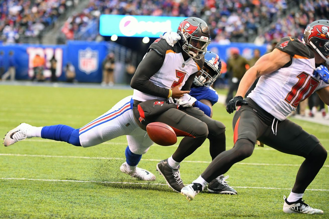 Giants vs. Buccaneers Week 3 Game time TV channel odds
