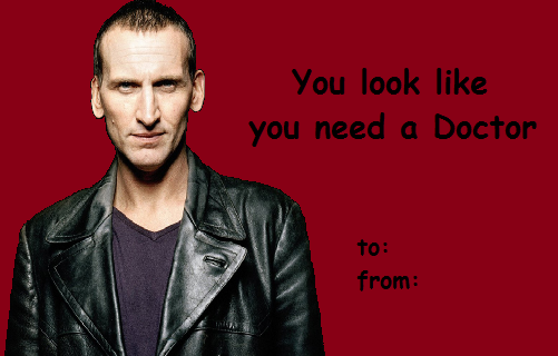 dr who valentines day cards my own email