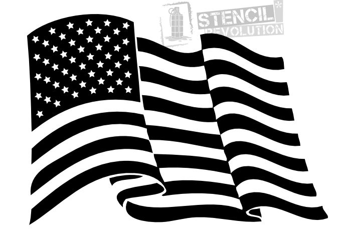 American flag stencil printable stencils stenciling and for Ez craft usa vinyl