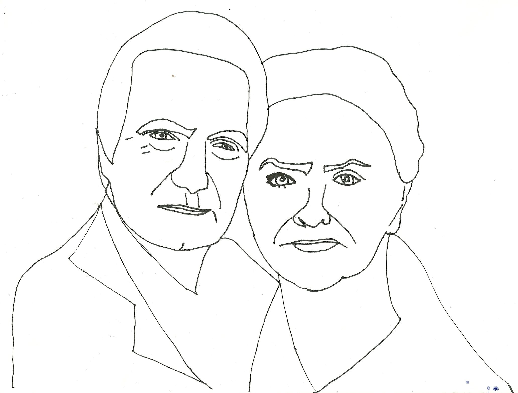 susan flannery and john mccook celebrity coloring page - Celebrity Coloring Book