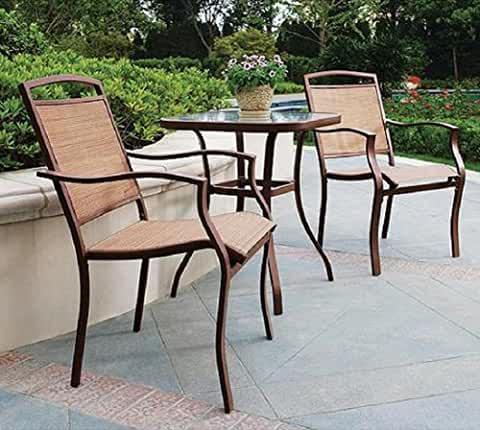 Amazon Com Patio Set 1 275 3 Pieces Patio Lawn Garden Outdoor Bistro Set Patio Furnishings Outdoor Patio Furniture Sets