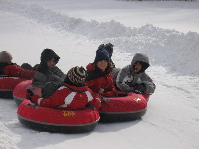Tubing Plattekill Mountain Fun Fun Fun Snow Tubing Ski Family School Trip