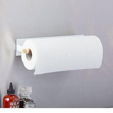 Magnetic Paper Towel Holder White Paper Towel Holder Towel