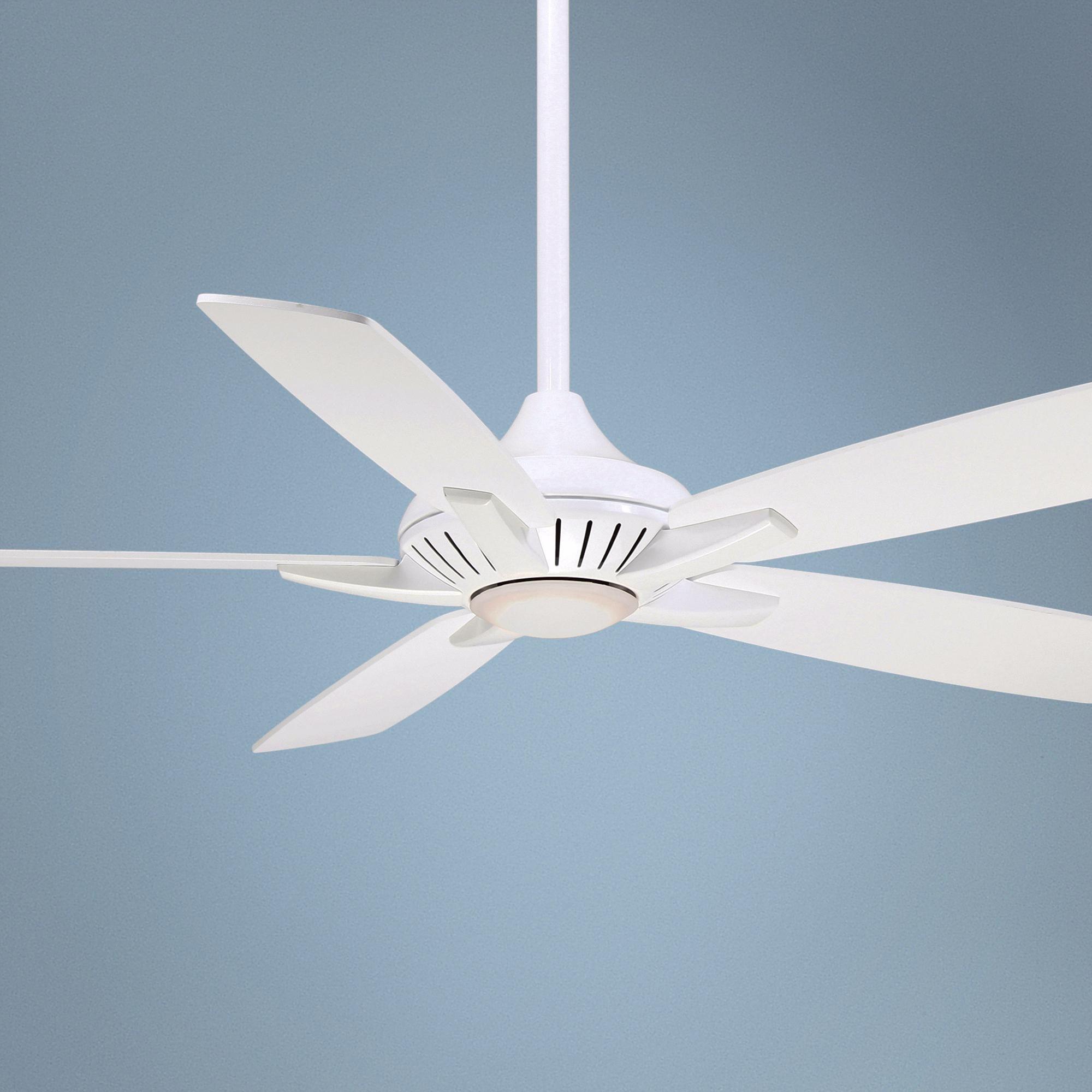 """52"""" Minka Aire DYNO White Ceiling Fan White ceiling fan"""
