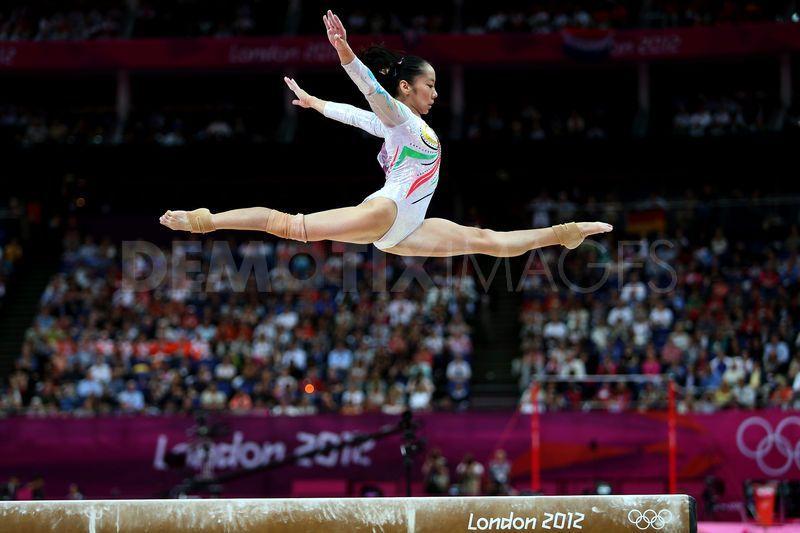 Gymnastics Artistic final London 2012 ~ Deng Linlin china