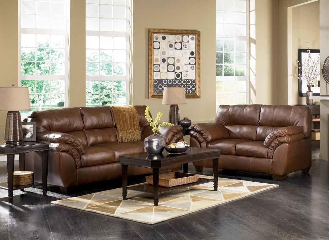 Furniture · Cool Ashley Furniture Leather Sofa ...