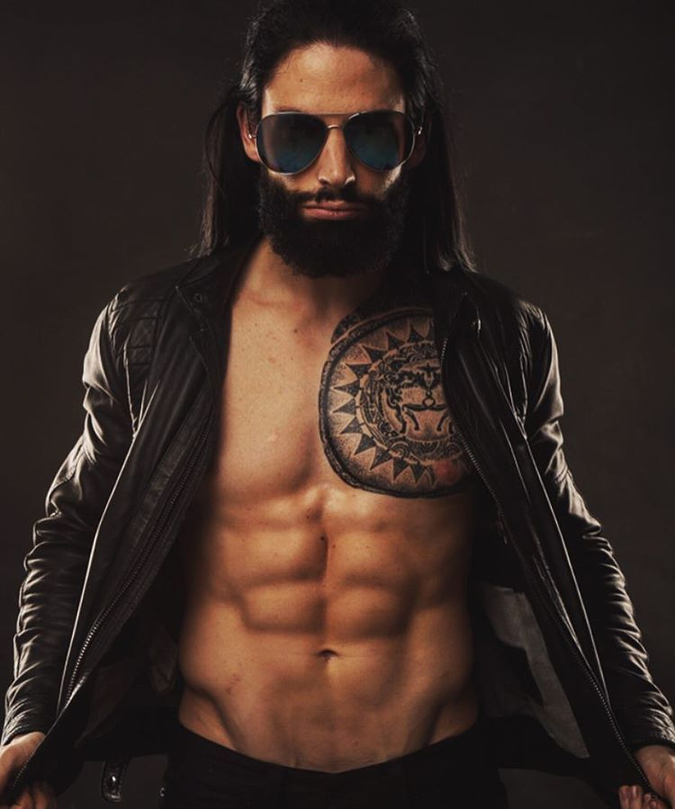 David Michigan - Beard - Tattoo - Man - Fitness | На потом | Pinterest