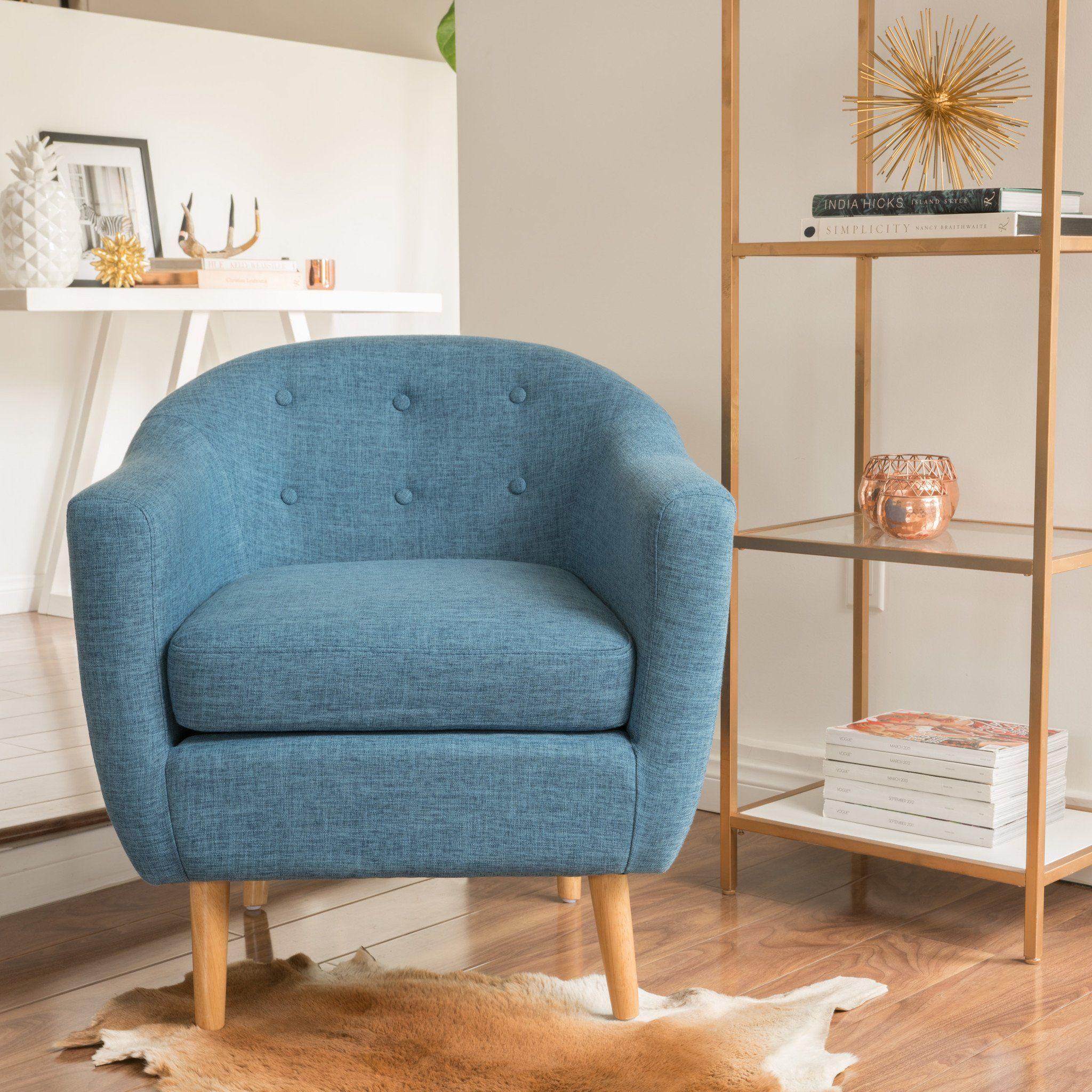 Best Navaro Mid Century Modern Accent Chair Accent Chairs 400 x 300