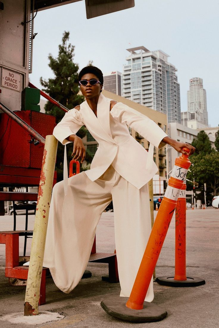 Stylist Theresa Pichler Latest Editorial for InStyle Germany with Imade Ogbewi | Fashion Editorials