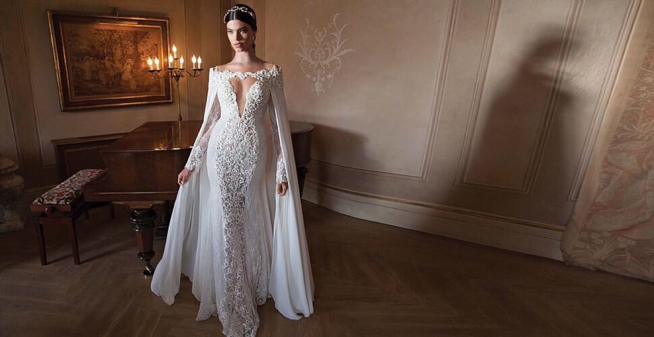 Wedding dress fit for a queen.