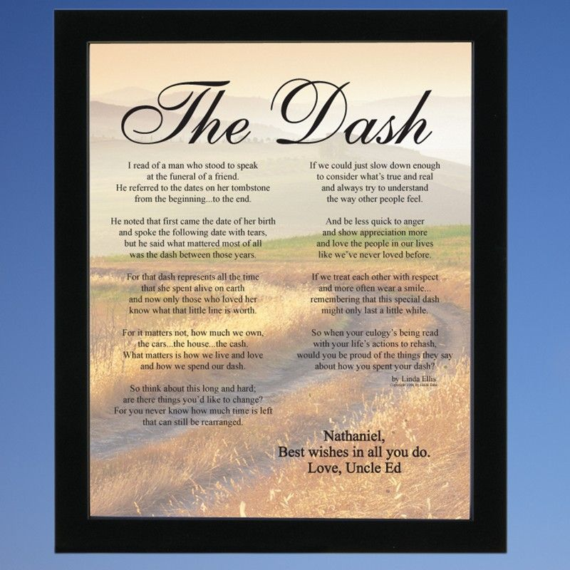 This is an image of Vibrant Poem the Dash Printable