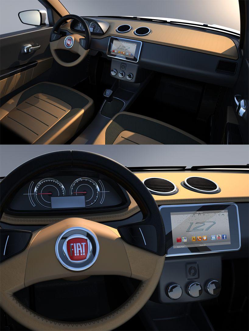 A Tribute To Pio Manzu Fiat 127 Concept By David Obendorfer Com
