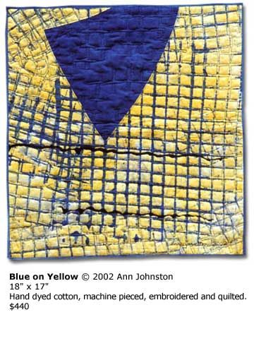 Ann Johnston | Gallery | Abstractions quilts