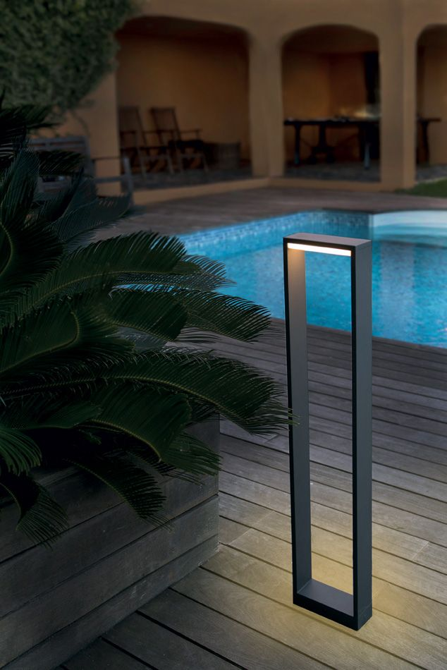 laurie lumi re luminaires clairage outdoor ext rieur jardin piscine balcon borne potelet. Black Bedroom Furniture Sets. Home Design Ideas