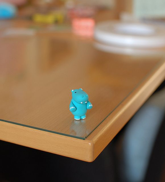 Hippopo in polymer clay by {JooJoo}, via Flickr