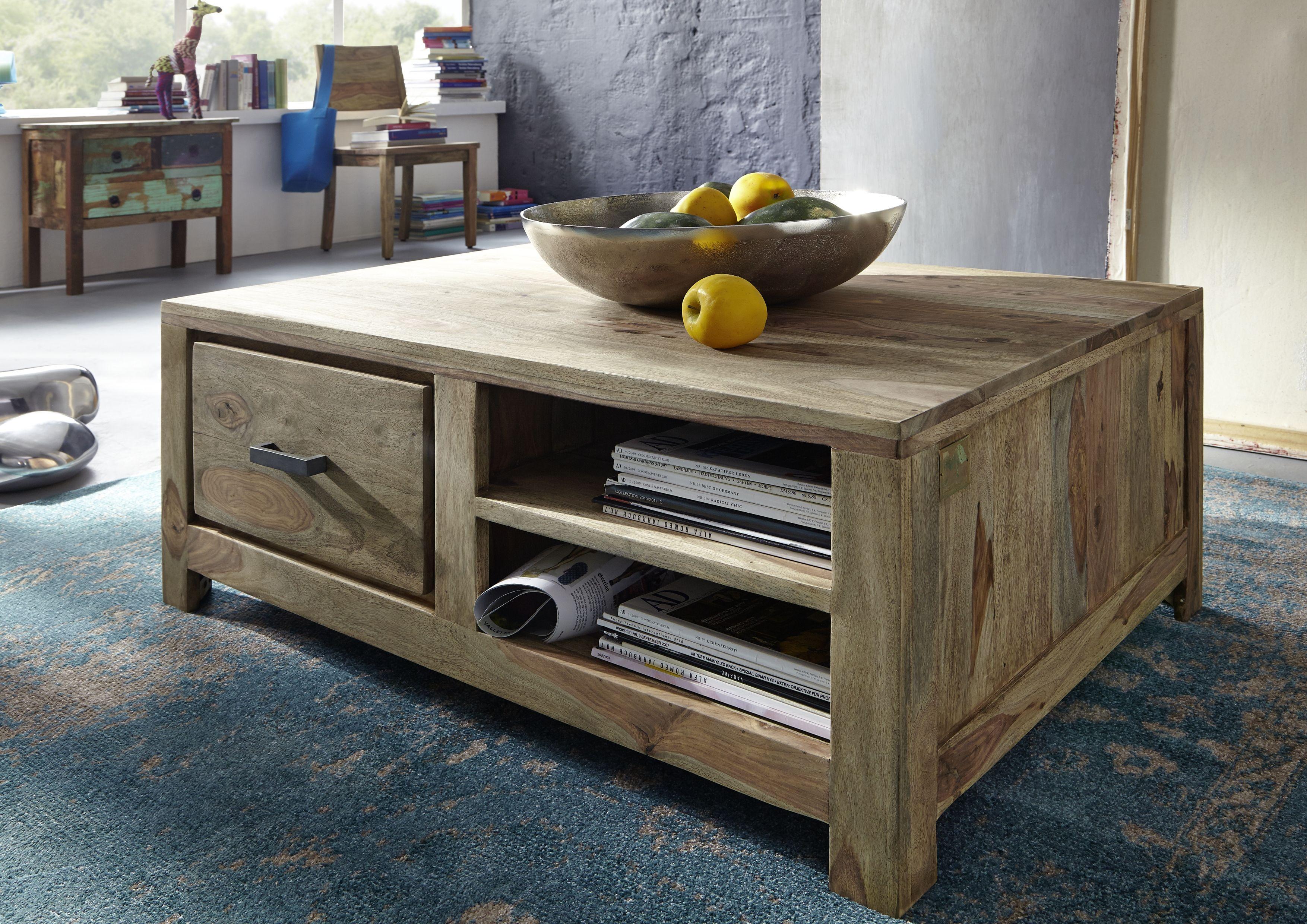 Naturholzmöbel Versandfrei Kaufen Massivmoebel24 Tisch Couchtische Couchtisch