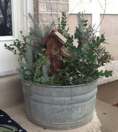 Photo of 56 Colorful Winter Planters for Your Outdoor Decorations ~ Matchn