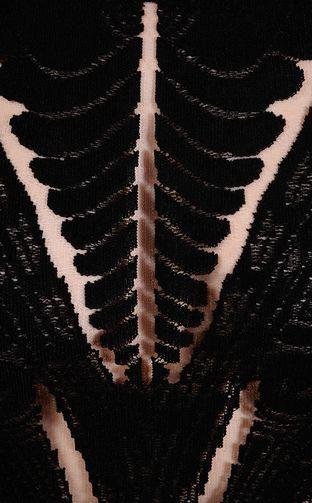 Short Dress - ROBERTO CAVALLI - 54% Viscose, 35% Polyamide, 11% Polyester