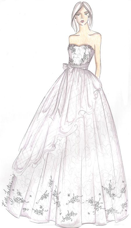 sketches of dresses for prom design sketches pinterest
