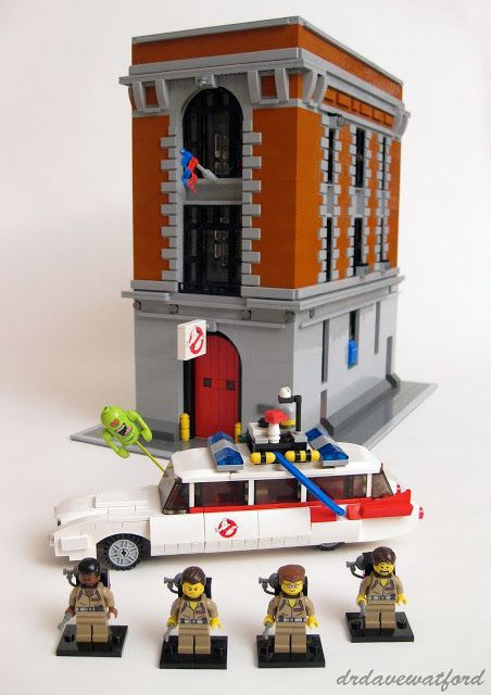 Ghostbusters Were Ready To Believe You Fangirl Fo Life Legos