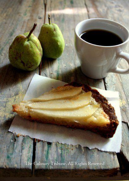 Coffee and pie slice