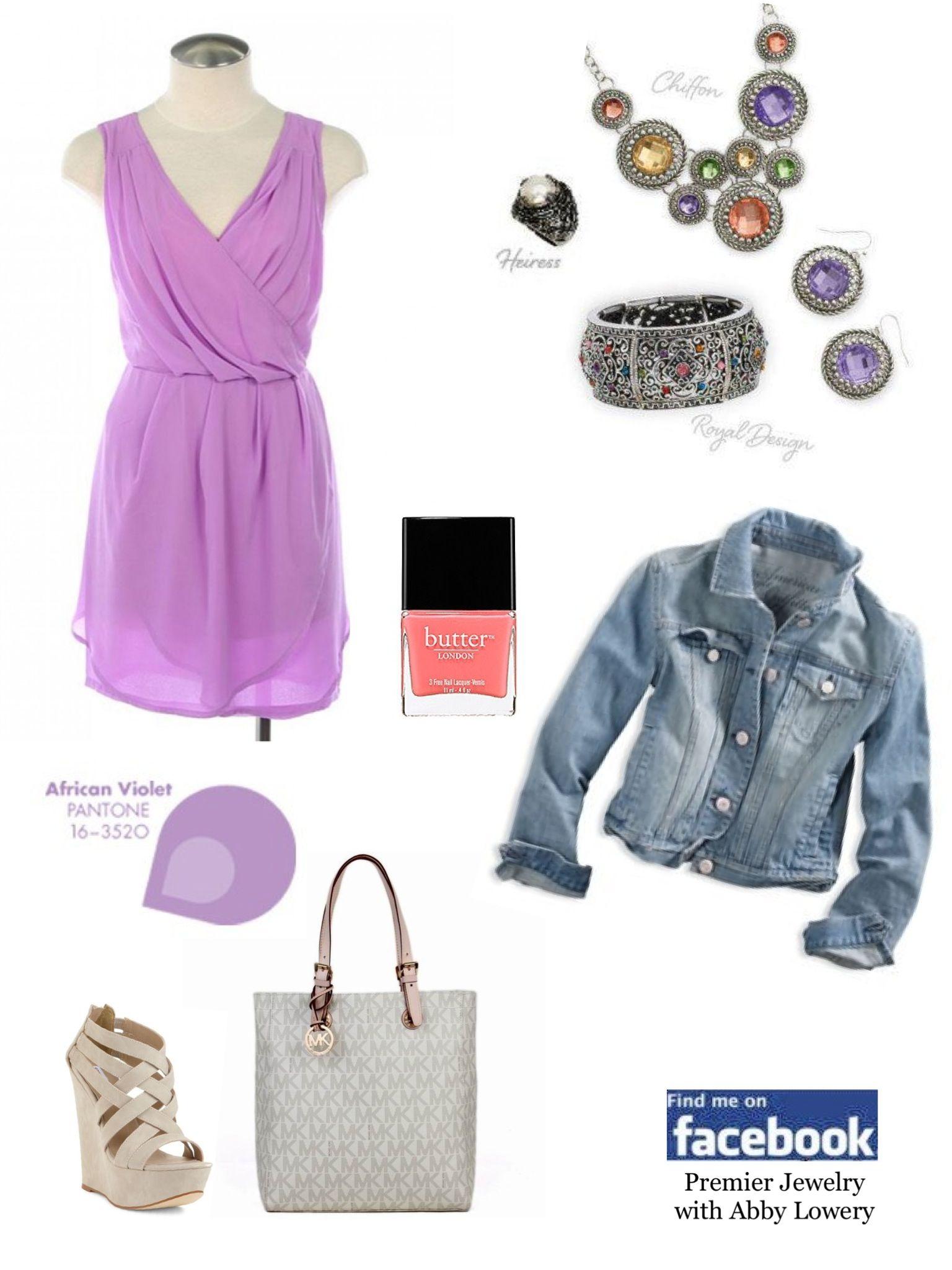 African violet.  #premierdesigns