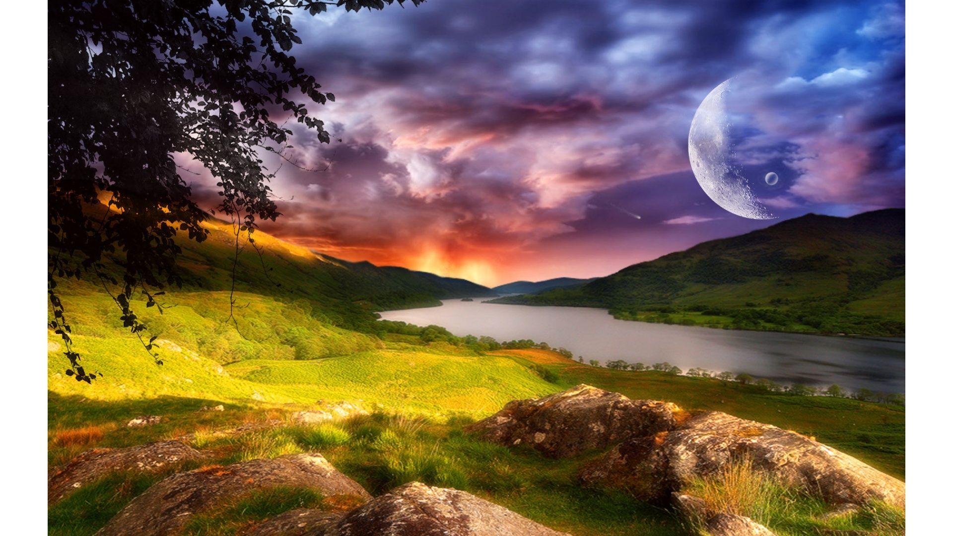 Fantasy scenery wallpaper desktop images 2k6zu3f2f5 - Fantasy scenery wallpaper ...