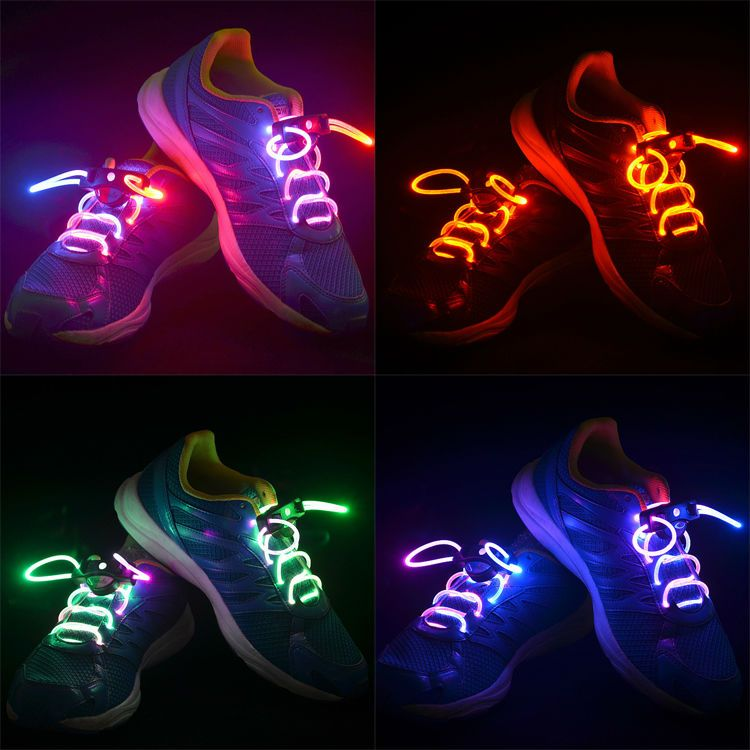 Shoes matching Shoelaces flashing Bootlaces Shoelace Sneaker Gift Accessories