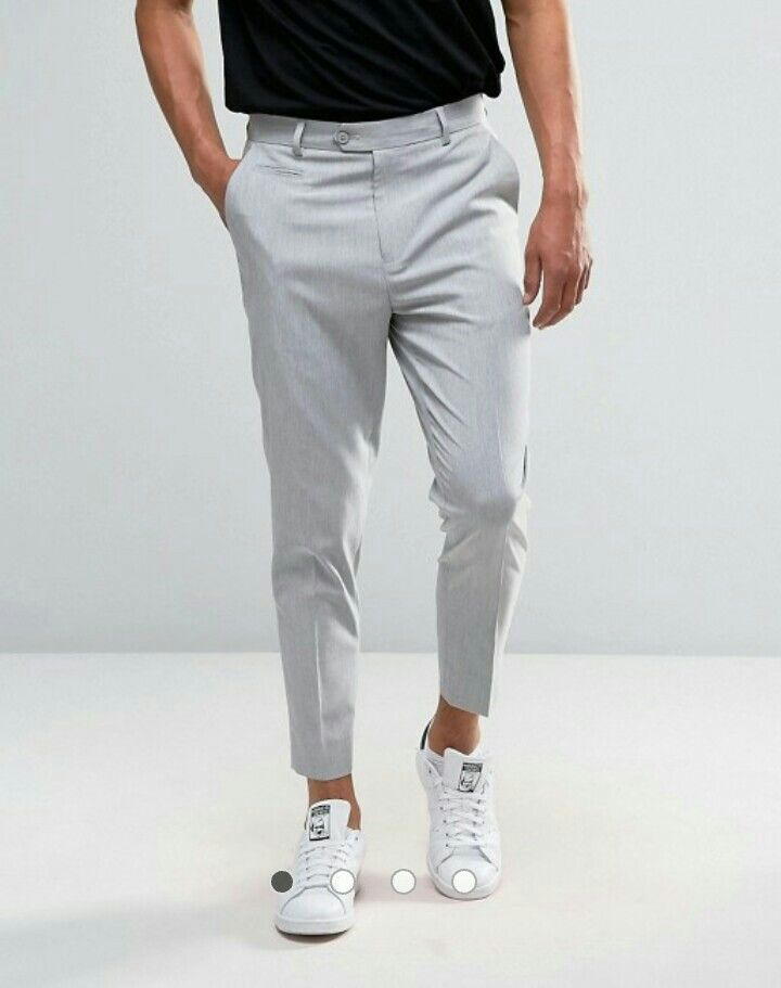 6f9352f7 Pin by Carrington Kinsey on My Style in 2019 | Cropped trousers men ...