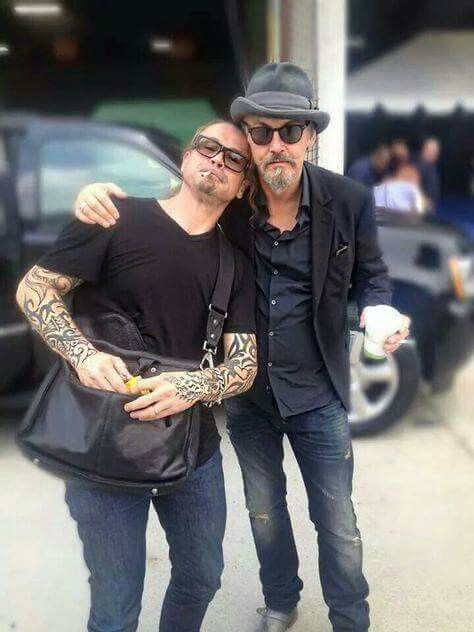 Kurt Sutter And Tommy Flanagan Sons Of Anarchy Tommy Flanagan Anarchy