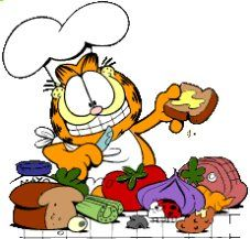 Ten Rules For Eating Garfield And Odie Garfield Cartoon Garfield Comics