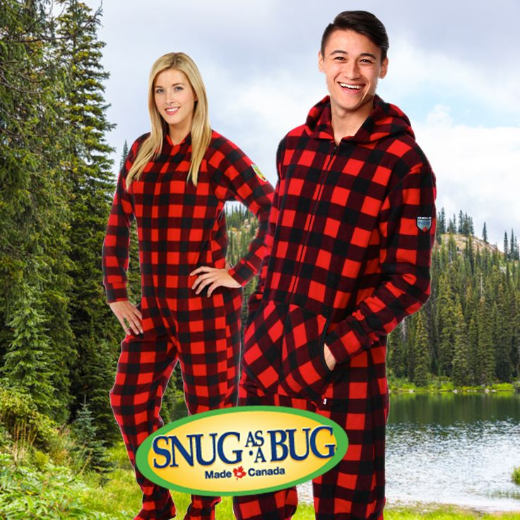 Shop our line of Canada Plaid onesies and go camping in the great outdoors  with your entire family. 000074f38
