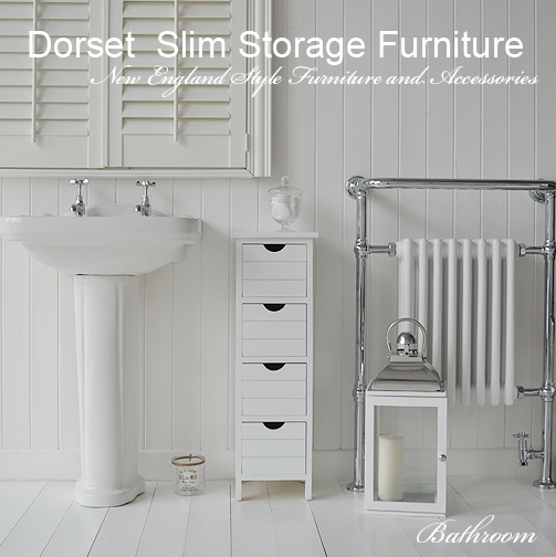 Slim Storage For Your Bathroom Only 25 Cm Wide And Deep The Dorset Is Perfect Narrow Es