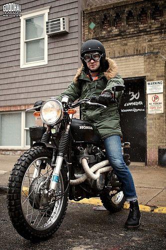 Attitude Is Everything http://goodhal.blogspot.com/2013/03/man-and-machine-012.html #Honda #ManAndMachine #Motorcycle