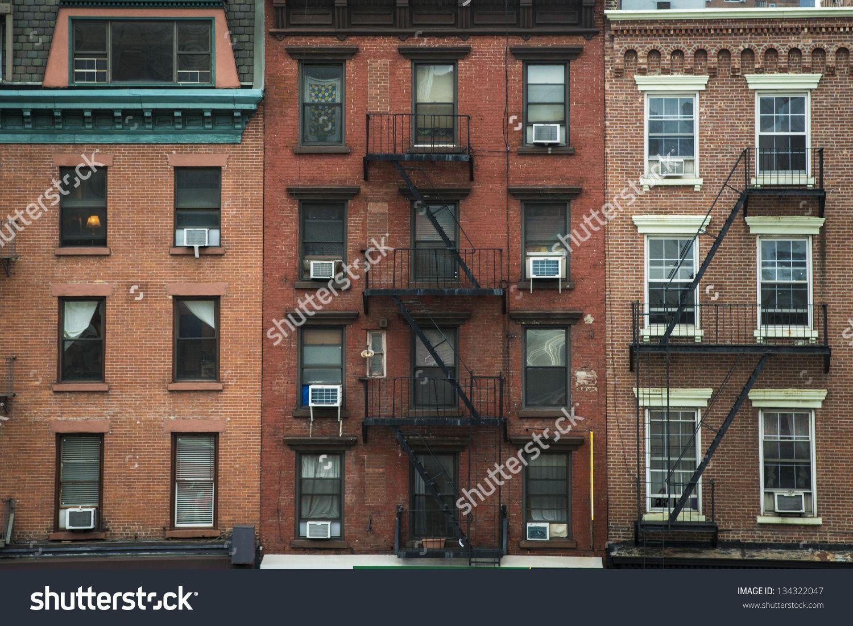 nyc apartment buildings. Resultado de imagen para building facade vintage new york  VENTANAS