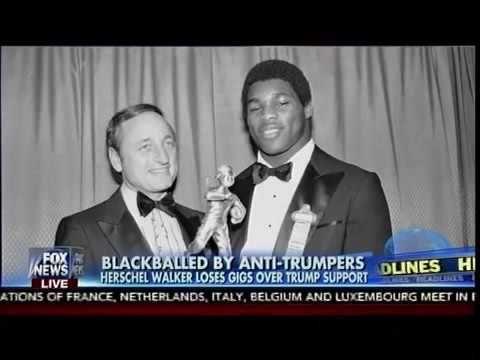 Blackballed By Anti-Trumpers - Herschel Walker Loses Gigs Over Trump Support - Fox & Friends | CNN