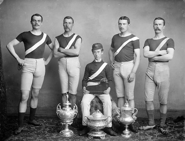 Winning Team by National Library of Ireland on The Commons, via Flickr