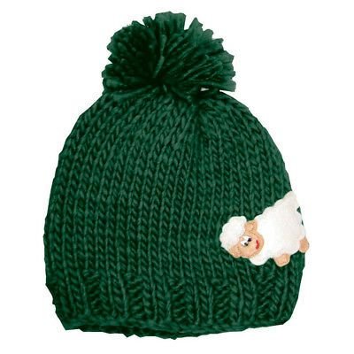 e8b09396081 Hats 15630  Green Sheep Kids Knit Hat -  BUY IT NOW ONLY   14.95 on ...