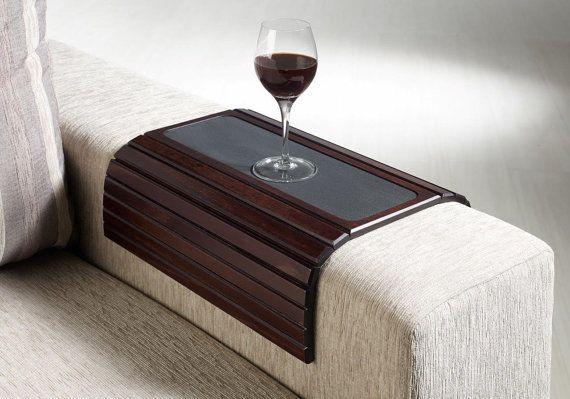 Couchmaid Table Top Original Sofa Tray Cappuccino Multi Purpose Hand Crafted